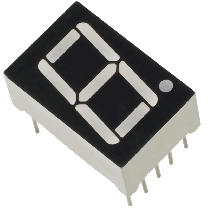1 Digit 7 Segment LED