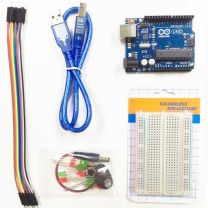 Arduino Hobby Kit 1 in Singapore - Arduino UNO, Breadboard, Jumper Wires, LED Lights