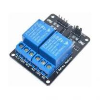 5 V DC 2 Channel Low Level Trigger Power Relay Module