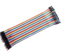 Female to Female 20cm 40P DuPont Color Jumper Wire