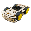 4 Wheels Robot Car Kit
