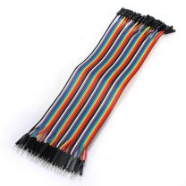 Male to Female 20cm 40P DuPont Color Jumper Wire