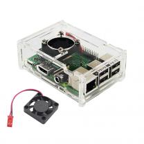 Raspberry Pi 3 Transparent Case