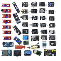 45 Sensors in One Kit for Raspberry Pi and Arduino Projects