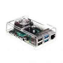 Raspberry Pi 4 Model B Casing with Cooling Fan