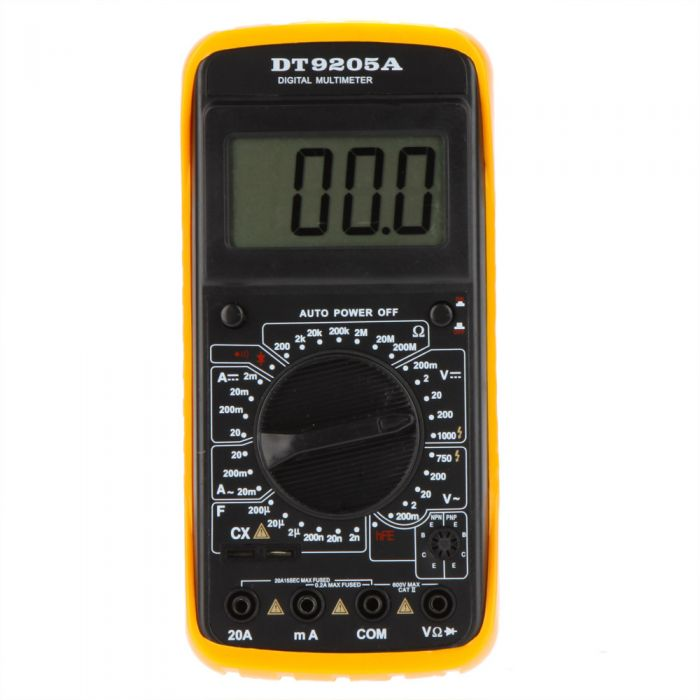 Multimeter capacimeter